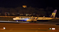 Ryanair / Boeing 737-8AS / EI-DAN (vic_206) Tags: bcn lebl ryanair boeing7378as eidan nocturna night