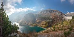 Kölnbreinsperre (dieLeuchtturms) Tags: hohetauern österreich europa see 2x1 kölnbreinsperre panorama staumauer bergsee alpen alps austria carinthia europe hightauern kärnten lake malta at