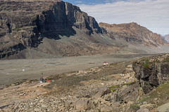 Heading up the Sodalen Valley........ (apcmitch) Tags: greenland mountains moraine sodalen eastgreenland2014 extreme