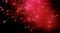 Happy New Year (Tashata) Tags: firework bright red outdoor pentax black bokeh pentaxk01