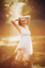 Golden (AlexanderHorn) Tags: classica golden field princess portrait beauty beautiful dancing woman girl warm