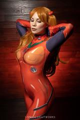 Asuka Langley (S1Price Lightworks) Tags: asuka langley neon genesis evangelion cosplay cosplayer girl model beauty plugsuit bodysuit con anime convention animore gel lighting softbox eosr canon 50mm rf