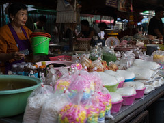 Plastic I (grapfapan) Tags: waste wrapping plastic market ayutthaya thailand travel