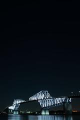 L1100995 (Zengame) Tags: leica leicasl leicasltyp601 sl summilux summiluxsl50mmf14asph wakasukaihinpark architecture bridge illuminated illumination japan landmark tokyo tokyobay tokyogatebridge typ601 waksu ゲートブリッジ ズミルックス ズミルックスsl ライカ 日本 東京 東京ゲートブリッジ 東京湾 橋 若洲 若洲海浜公園 東京都 jp
