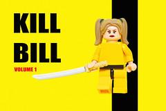 LEGO KILL BILL (40gOingOn4!) Tags: kill bill lego movies movie poster film minifigure minifigures toys toy macro nikon d7100 105mm uk rob robert trevissmith