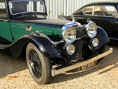 1935 Alvis Speed 20 WD 9131 (BIKEPILOT, Thx for + 5,000,000 views) Tags: 1935 alvis speed20 wd9131 green black classic vintage beautiful car auytomobile vehicle transport brooklandsmuseum carshow brooklandsnewyearsdaygathering weybridge surrey uk england britain