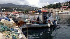 Fischerboote Korfu (trixi.midik) Tags: hafen boote korfu greece holiday 2018 meer europa ausflug wandern photo landscape landschaft vacanza