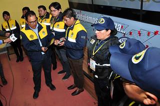 SMSC PRESENTA  UNIFORMES Y CREDENCIALES PARA FUNCIONARIOS DE LA INTENDENCIA Y GUARDIAS MUNICIPALES (4)