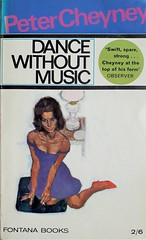 Dance Without Music (samo_gone) Tags: fontana books peter cheyney illustration renato fratini