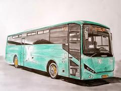 Mercedes-Benz OC500 Merkavim / Egged bus (paul7310) Tags: egged mercedesbenz merkavim