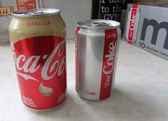 Vanilla and Diet coke (creed_400) Tags: vanilla diet coke coca cola pop cans belmont west michigan february winter
