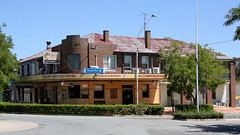 BOOROWA Pubs (1/2) (Jungle Jack Movements (ferroequinologist)) Tags: boorowa nsw new south wales court house hotel pudman queen marsden st street lachlan valley way great northern xxxx australia alcohol ale alehouse amber bar barman bartender beer brew brewery drink draught lager saloon tavern inn public drunk publican local stout lounge watering hole pub tab order cold cheers keg serve liquor whiskey spirits schooner pot mates victoria melbourne bitter carlton emu west end story history rail smoke honky tonk dive