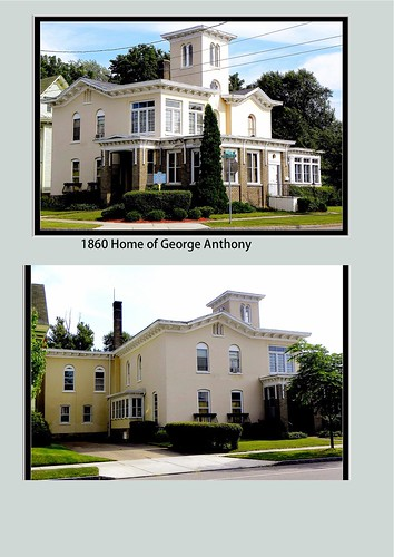 Albion New York - Orleans County - George Anthony - Historic Mansion