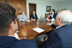 Reunião com Comitiva do Paraguai