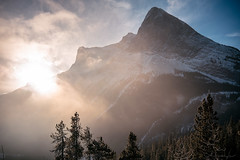 Kananaskis (Brendan Cole Photography) Tags: mountain sunrise sunset trees forest banff canmore kananaskis travel road trip adventure snow blue sky