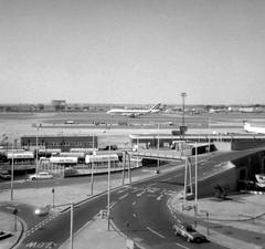 Heathrow airport in the 1970s - my first Alitalia Boeing 747, seen landing on runway 28R (heathrow.junkie) Tags: london lhr londonheathrow alitalia boeing747 747