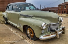 A little wear on the paint (Kool Cats Photography over 11 Million Views) Tags: cadillac worn old abandoned photography wornpaint guthrie oklahoma wheels classic classiccar restorable outdoor canon car canon24105f4lisusmlens