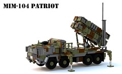 MIM-104 Patriot (Matthew McCall) Tags: lego moc military war army missile launcher mim104 patriot