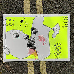 Love will tear us apart (id-iom) Tags: face kiss love lovewilltearusapart joydivision song iancurtis art painting contemporaryart urbanart popart modernart modern contemporary urban pop stencil lyrics words text quote muse inspiration