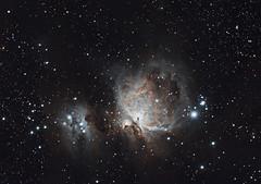 M42 / The Orion Nebula (Loredana Jucan) Tags: m42 orionnebula therunningmannebula astrophotography astrophotos deepskyphotography deepskyobjects messier
