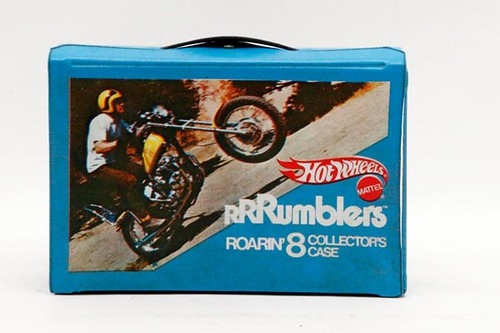 Hotwheels Rumblers Motorcycles with carrying case ($302.40)