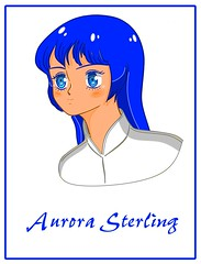 (Portrait  of the bust figure, High Definition version ) Max and Miriya 's second daughter , Aurora Sterling (yuina1107) Tags: super dimension cavalry southerncross valkyrie vf1 saab battloid robotechmasters zor george sullivan mylene max sterling miriya parna maia dana skull squadron 超時空騎団サザンクロス