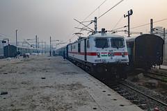 post-apocalyptic Punjab (daveymills37886) Tags: wap7 30269 amritsar junction chattisgarh express indian railways