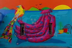 L'oiseau magnifique et les bananes (Edgard.V) Tags: paris parigi streetart arte urbano urbanart callejero muram brésil brasil brazil zé palito oiseau bird ave uccello bananas platano zehpaliyo zepalito