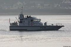 The RN Archer-class patrol boat HMS Tracker, P274; the Holy Loch, Firth of Clyde, Scotland (Michael Leek Photography) Tags: warship nato natowarships navalvessel archerclass patrolvessel patrolship patrolboat hmnbclyde hmnb faslane hmsneptune britainsarmedforces britainsnavy holyloch argyllandbute argyll cowal cowalpeninsula rn royalnavy strone firthofclyde westcoastofscotland westernscotland michaelleek michaelleekphotography