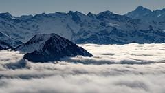 Rigi (sooqudlf30) Tags: mountains berge schweiz sun sonne wolken nebel mist switzerland alps alpen 55200f3548 rigi fujixe3