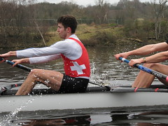 IMG_0965 (NUBCBlueStar) Tags: rowing remo rudern river aviron february march star university sunrise boat blue nubc sculling newcastle london canottaggio tyne hudson thames sweep eight pair