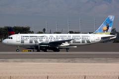 Frontier Airlines | Airbus A320-200 | N213FR | Las Vegas McCarran (Dennis HKG) Tags: aircraft airplane airport plane planespotting canon 7d 100400 lasvegas mccarran klas las frontier frontierairlines fft f9 airbus a320 airbusa320 n213fr