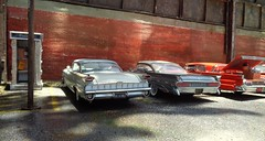 Wards 8 (gpholtz) Tags: diorama miniatures 118 diecast 1959 oldsmobile