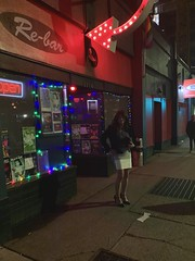 Bad lighting, but a quick shot outside the club (robinlane98) Tags: robinlane98 crossdress cd genderfluid gurl tgirl trans