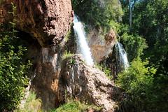Waterfall - Rifle Falls, Colorado (BeerAndLoathing) Tags: 2018 usa roadtrip riflefalls 77d pallisadetrip august trip waterfall canon summer canoneos77d colorado