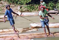 Raft Wranglers (HarveNYC) Tags: jamaica 1992