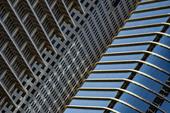 (jfre81) Tags: urban city abstract architecture stack cluster row flattened light reflection exxon chevron oil houston texas tx tex diagonal lines pattern downtown james fremont jfre81 photography canon rebel xs eos 2019