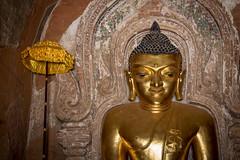 Temple Htilominlo (Seb & Jen) Tags: bagan myanmar burma birmanie mandalayregion myanmarbirmanie oldbagan nyaungu royaumedepagan temple pagoda pagode htilominlo buddha