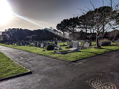 Godlingston Cemetery (BeerAndLoathing) Tags: pixelxl december swanage googlepixel england winter uktrip google winter2018 trip 2018 android cellphone pixel purbeck unitedkingdom gb