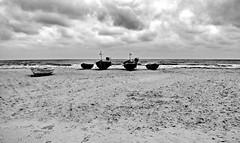 Strand von Baabe (Wunderlich, Olga) Tags: sand ostsee boote wellen himmel rügen insel mönchgut mecklenburgvorpommern landschaft natur