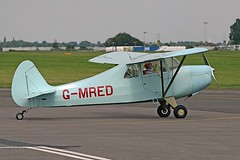 G-MRED Christavia Mk1 CVT 10-08-12 (cvtperson) Tags: gmred christavia mk1 coventry airport cvt egbe
