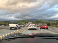 Getting Crowded (boxbabe86) Tags: wednesday march newhallpass santaclarita chevrolet headsupdisplay freeway clouds corvette driving