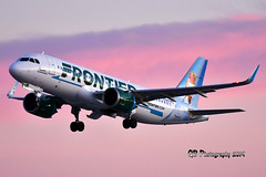 N318FR Frontier (Flower the Hummingbird Livery) Airbus A320-251NDSC_8935 (Ron Kube Photography) Tags: aircraft plane flight airliner nikon d7200 nikond7200 ronkubephotography yyc calgary calgaryinternationalairport n318fr