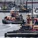 Tugs Turning in Harbor (PAJ880) Tags: tugs liberty freedom btt boston harbor ma boats work waterfront urban