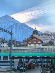 Niesen (Bephep2010) Tags: 2018 alpen apple bahnhof berg bern iphone iphone8plus niesen schweiz spiez switzerland zug alps hotel mountain railwaystation train kantonbern ch
