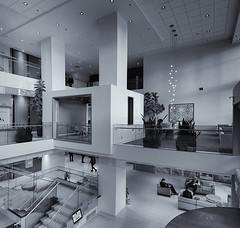 Architectural Detail 2  # 31    ...    (c)rebfoto (rebfoto...) Tags: rebfoto architecture architecturalphotography architecturaldetail monochrome blackandwhite design interiorphotography