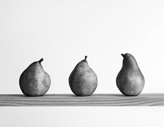 3 pears (rich lewis) Tags: mono monochrome fineart pears fruit richlewis
