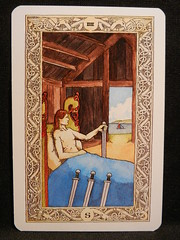 Four of Swords. (Oxford77) Tags: tarot thenorsetarot norse viking vikings cards card tarotcards