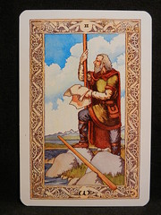 Two of Wands. (Oxford77) Tags: tarot thenorsetarot norse viking vikings cards card tarotcards