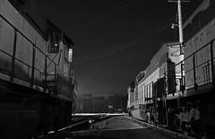 Sleeping Bessies (GLC 392) Tags: emd sd40t3 sd403 sd40t2 greenville sd382 ble bessemer lake erie 901 908 867 railroad railway train pa pennsylvania night time exposure